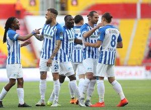 Kayserispor - Erzurumspor maçından kareler