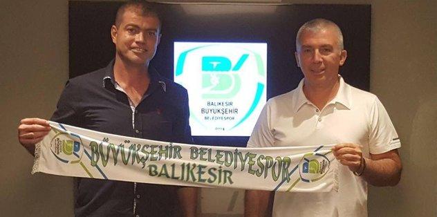 Balıkesir BB Yazıcıoğulları'yla imzaladı