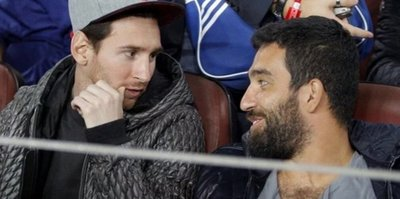 Messi, Arda'ya selam bile vermiyor