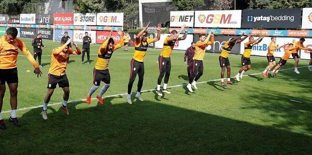 Galatasaray'da maraton başlıyor!