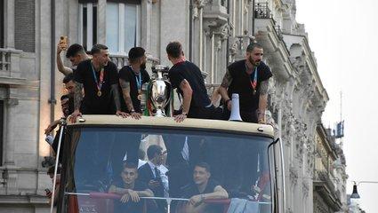 İtalya Milli Takımı'na büyük onur!
