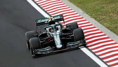 Son dakika spor haberi: Aston Martin pilotu Vettel, F1 Macaristan Grand Prix'sinden diskalifiye edildi