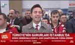 Türkiye'nin gururları İstanbul'da