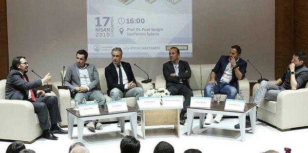 """""""Endüstriyelleşen Dünyada Spor"""" konulu panel düzenlendi"""