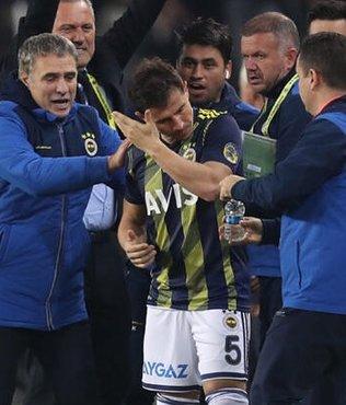 Emre Belözoğlu'ndan atılan gollere sevinmediği yönündeki iddialara yanıt