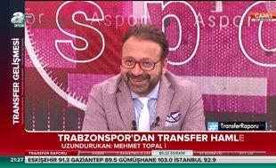 Trabzonspor'dan Mehmet Topal hamlesi
