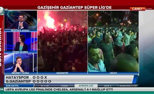 Gaziantep'te Süper Lig coşkusu!