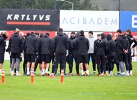 Beşiktaş Aytemiz Alanyaspor maçı hazırlıklarına başladı