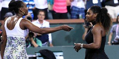 Ablası Serena Williams'ı saf dışı bıraktı