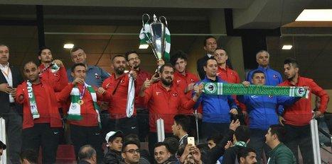 Şampiyon Amputeler, Avrupa Ligi maçında