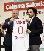 Shane Larkin: Başkan Erdoğan'ın desteği gurur verici