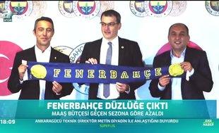 Fenerbahçe düzlüğe çıktı