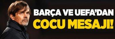 Barcelona ve UEFA'dan Cocu yorumu!