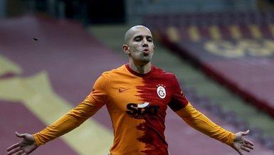 Galatasaray'da Feghouli'den ekstra yükleme!