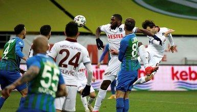 Trabzonspor son 8 karşılaşmayla şampiyonluğun uzağında kaldı