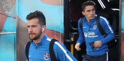 Trabzonspor, Konya'ya eksik gitti