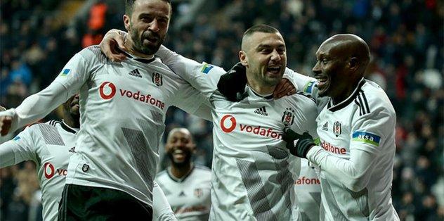 Son dakika: Beşiktaş'ın Yeni Malatyaspor maç kadrosu açıklandı! Burak Yılmaz... - Futbol -