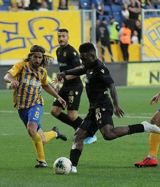MAÇ SONUCU Ankaragücü 0-4 Yeni Malatyaspor MAÇ ÖZETİ