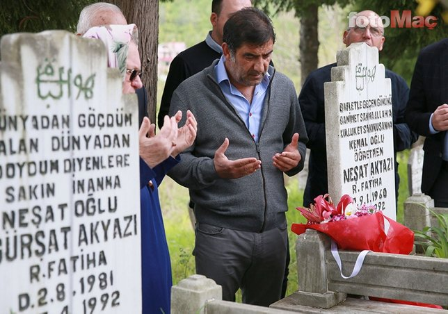 Trabzonspor trafik kazasında ölen taraftarlarını andı