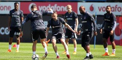 Beşiktaş'ta Göztepe maçı hazırlıkları sürdü