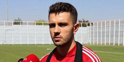 Sivassporlu Emre Kılınç iki hafta sahalardan uzak kalacak