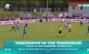 Trabzonspor yeni transferlerden fazla yararlanamadı
