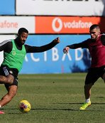 Beşiktaş Trabzonspor'a 2 eksikle çalıştı! Atiba ise...