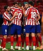 Atletico Madrid Devler Ligi biletini kaptı!