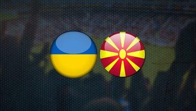 Ukrayna Kuzey Makedonya maçı ne zaman, saat kaçta ve hangi kanalda CANLI yayınlanacak? | EURO 2020 C Grubu