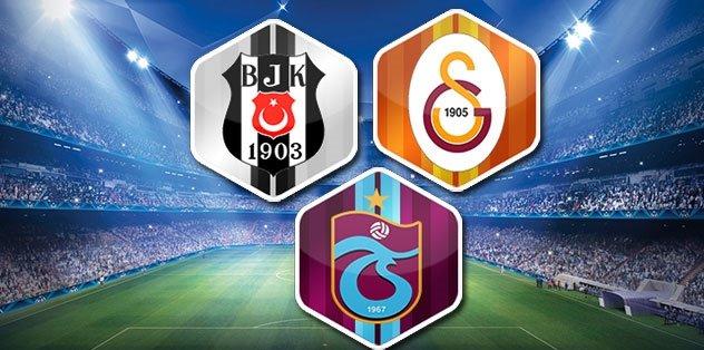 Dev transfer yarışı! Trabzonspor Galatasaray Beşiktaş...