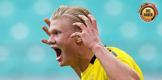 Ortalığı birbirine kattı! Haaland'ı dışarı attılar - Almanya Bundesliga -