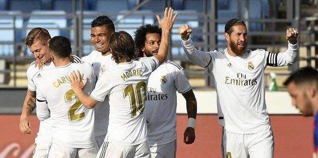 Real Madrid'in takibi sürüyor