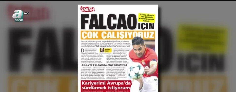 Galatasaray'da Falcao mesaisi