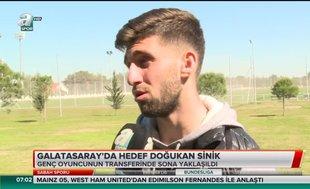 Galatasaray'da hedef Doğukan Sinik