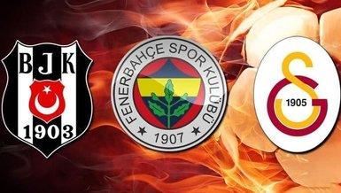 Beşiktaş, Fenerbahçe ve Galatasaray'ın Avrupa maçları öncesi iddaa oranları belli oldu