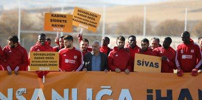 Sivasspor'dan anlamlı hareket