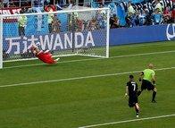İşte Lionel Messi'nin Arjantin-İzlanda maçında kaçırdığı penaltı