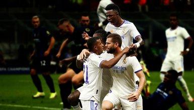 Inter-Real Madrid: 0-1 (MAÇ SONUCU-ÖZET)