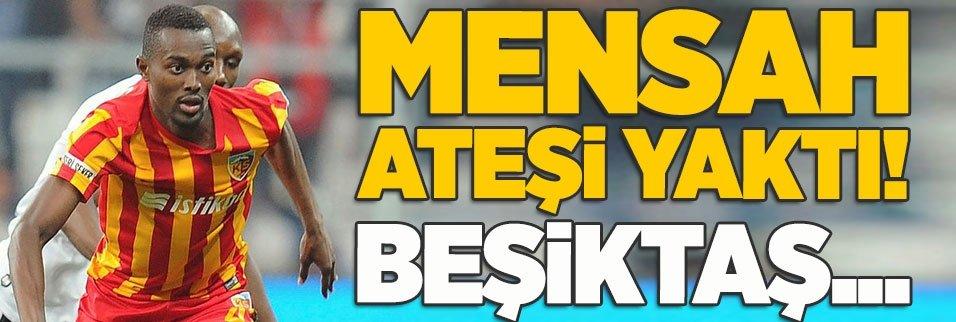 bernard mensah atesi yakti besiktas 1594450525664 - Kayserisporlu Eray Beşiktaş'ın teklifini resmen açıkladı!