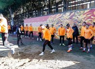 Galatasaray'ın antrenmanında sürpriz misafir