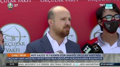 Mete Gazoz ve Yasemin Ecem Anagöz Okçular Vakfı'nda!