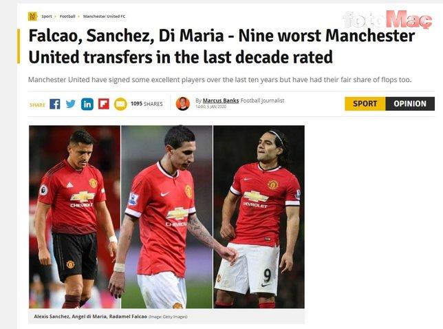 Manchester United'ın Falcao transferi böyle açıklandı! Tarihe geçti...