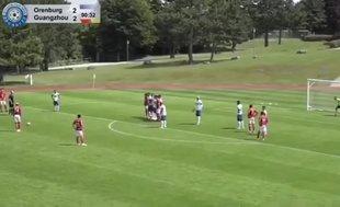 Talisca Çin'deki ilk golünü attı