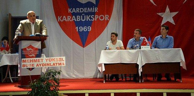 Kardemir Karabükspor'un yeni başkanı Sedat Namal oldu