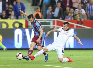 Trabzonspor Beşiktaş maçından kareler
