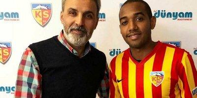 Kayserispor Amorim ile sözleşme imzaladı