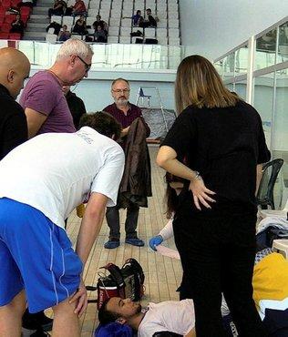Milli yüzücü Can Batır taburcu edildi