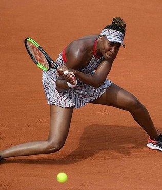 Fransa Açık'ta son şampiyon Jelena Ostapenko ve Venus Williams ilk turda elendi