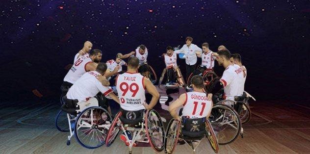 Tekerlekli Sandalye Basketbol Milli Takımımız yarı finalde