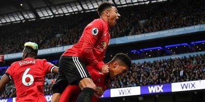 Derbinin kazananı Manchester United